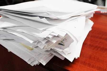 vertrouwelijk-papier-oude-administratie-particulier
