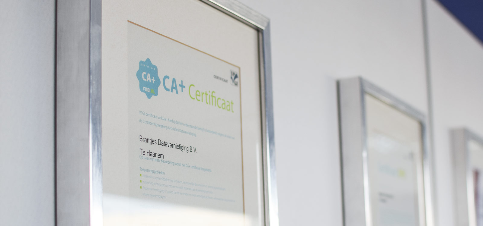 certificering-archief-en-datavernietiging-caplus