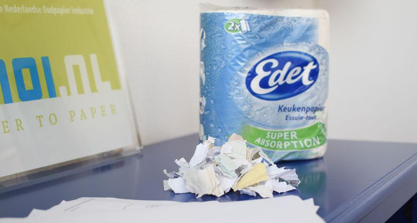 versnipperd-papier-gerecycled-tot-tissue-papier